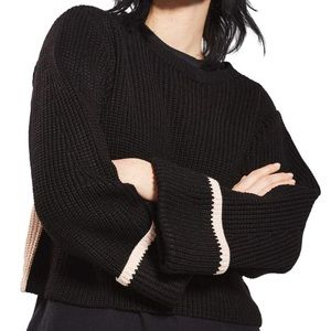 Topshop two tone sweater NWOT